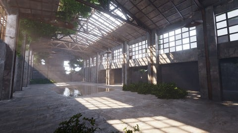 SHC Abandoned Factory hall
