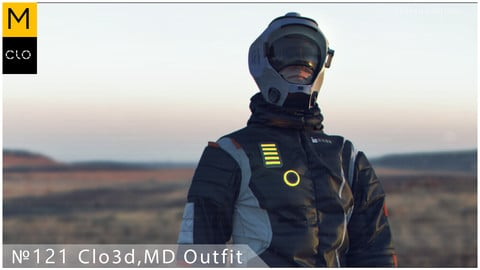 №121 Clo3d, MD outfit