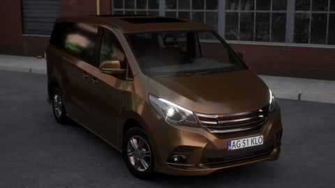 Minivan Car
