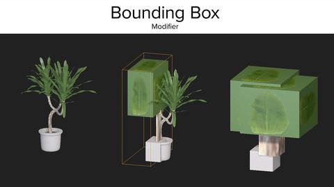 Bounding Box Modifier 3dsMax
