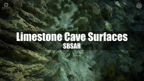 Limestone Cave Surface Substance