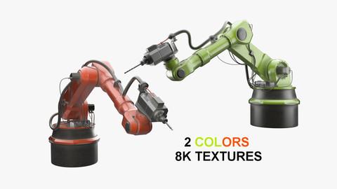 Industrial Robot 1 Textured
