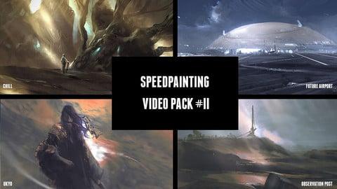 Speedpainting Video Pack #II