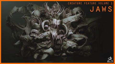 JAWS - 33 Monster Mouths 'n Skulls  & IMM Brush Pack