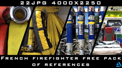 Free Ref pack - French FireFighter