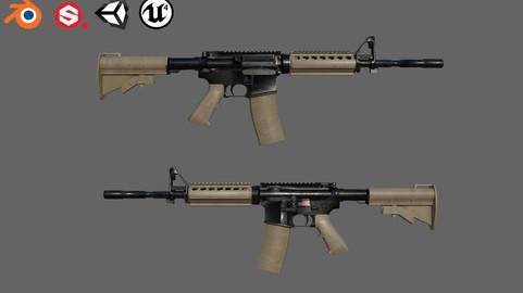 Assault rifle M4A1