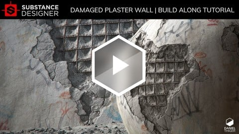 Damaged Plaster Wall | Substance Designer Tutorial