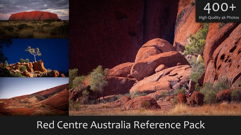 Red Centre Australia Reference Pack
