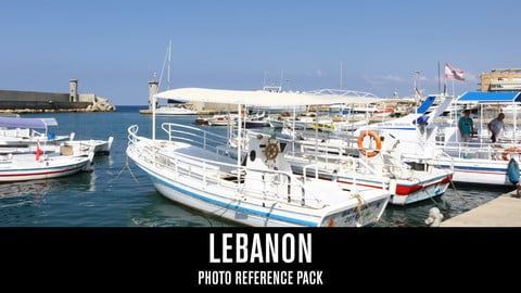 Lebanon - Photo Reference Pack