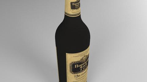 Portwine 777 bottle
