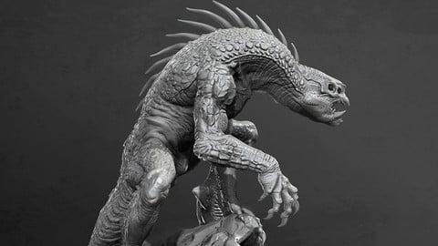 Full dragon, 3d print