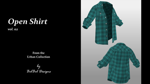 Open Shirt vol.02 - Urban Collection