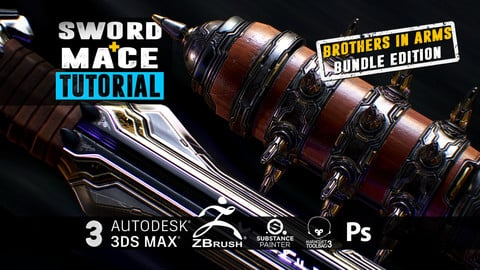 Mace + Sword - Ultimate Bundle Edition - Become a Zbrush master