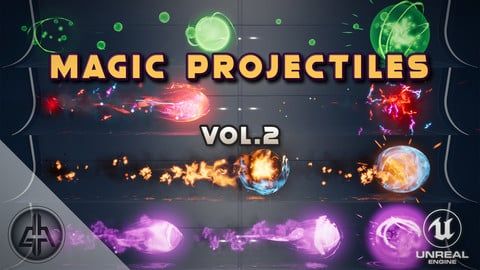Magic Projectiles Vol. 2 - Unreal Engine
