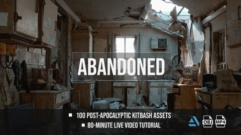 Post-Apocalyptic Kitbash Set & Tutorial