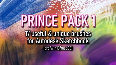 Prince Pack 1: Brushes for Autodesk Sketchbook