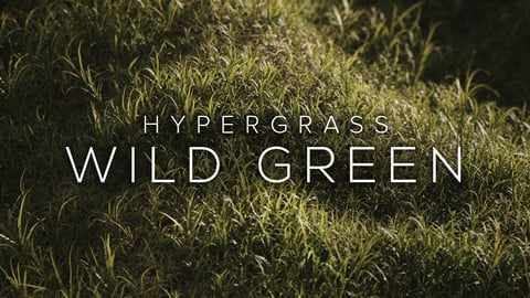 HyperGrass Vol.1 Wild Green - Realistic 3D Grass Collection