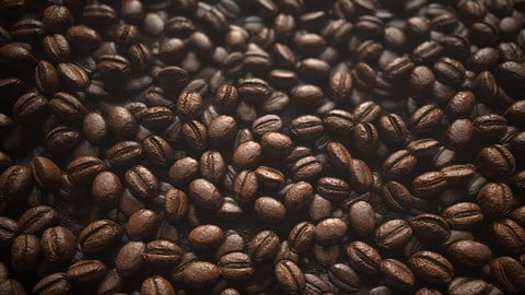 Coffee Bean Material |Substance Designer Graph and Marmoset Scene