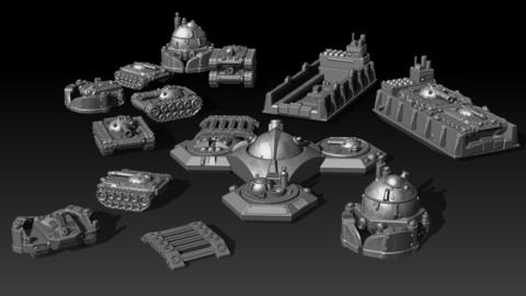 Full Metal Planet Figurines