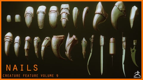 NAILS - 24 Character & Creature Claws & Nails