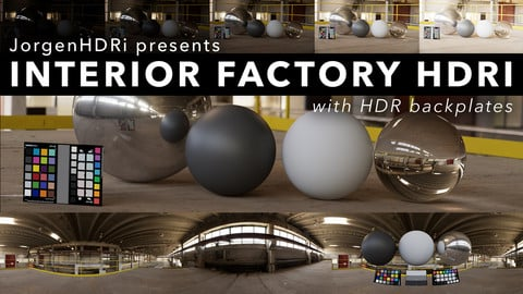 JorgenHDRi Interior: Abandoned Factory Platform