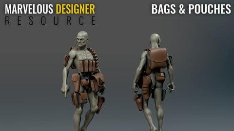 Bags - Marvelous Designer Resource