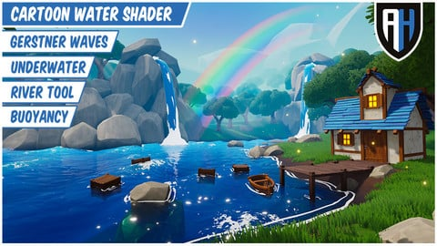 Cartoon Water Shader (Unreal Engine 4)