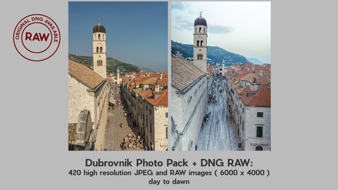 Dubrovnik Photo Pack with RAWS