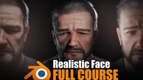|TUTORIAL| Realistic Face Creation in Blender