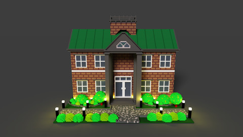 House 2 voxel