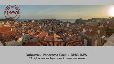 Dubrovnik Pano Pack with DNG RAWs