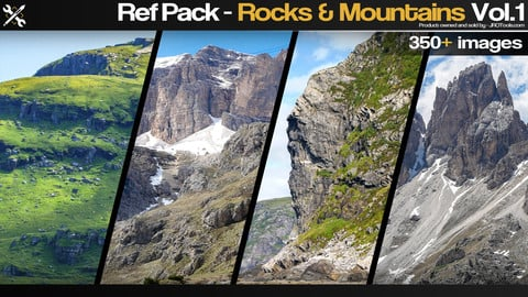 Ref Pack - Rocks & Mountains Vol.1