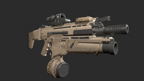 scar H with attacthments