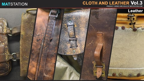 Photo Pack - Cloth and Leather - Vol.3