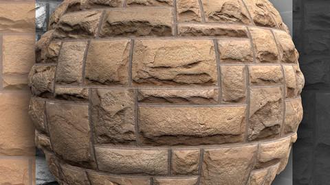 Stone Wall 01 - PBR