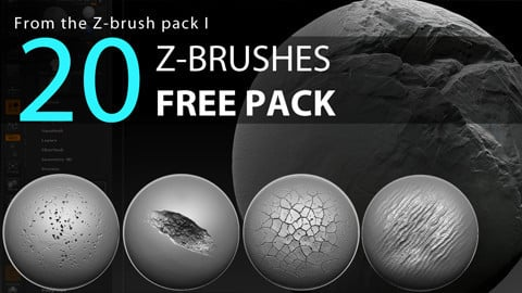 20 Z-Brushes | FREE PACK