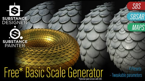 FREE* Basic Scales Generator - Procedural