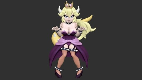 Bowsette princess bowser