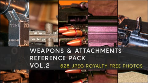 WEAPONS & ATTACHMENTS REFERENCE PACK VOL.2