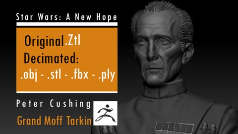 Peter Cushing - Grand Moff Tarkin - Star Wars
