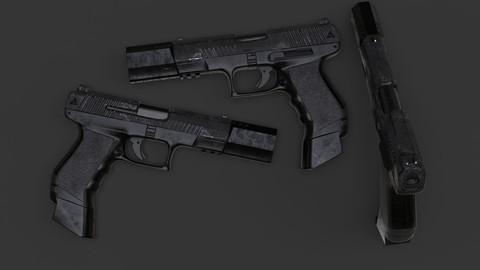 Modern Fictional Gun