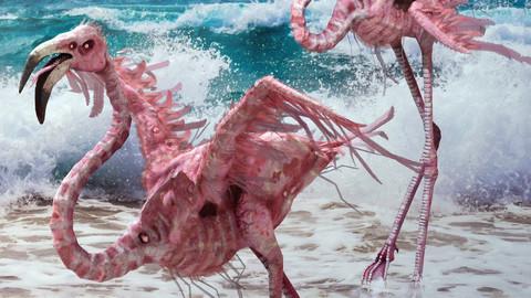 Flamingo Monster