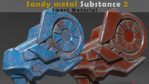Sandy metal Substance Smart Material