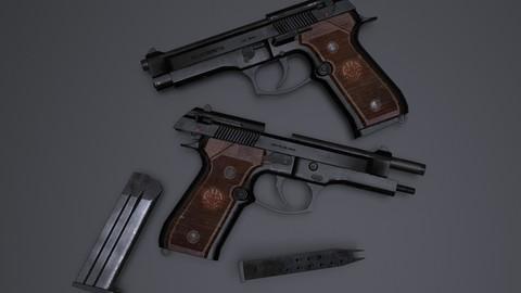 Beretta M92 Gameready PBR Pistol