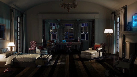 LookDev - Interior Lighting , Rendering and Compositing Tutorial (Maya , Arnold and Nuke)
