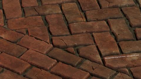 Brick Pavement Material - Substance Designer