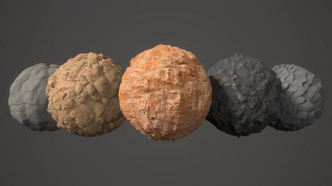 Substance Designer Material Pack Rock