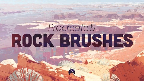 ROCK Brushes - 14 Custom Brushes for Procreate 5