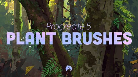 PLANT Brushes - 37 Custom Brushes for Procreate 5