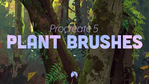 PLANT Brushes - 37 Custom Brushes for Procreate 5